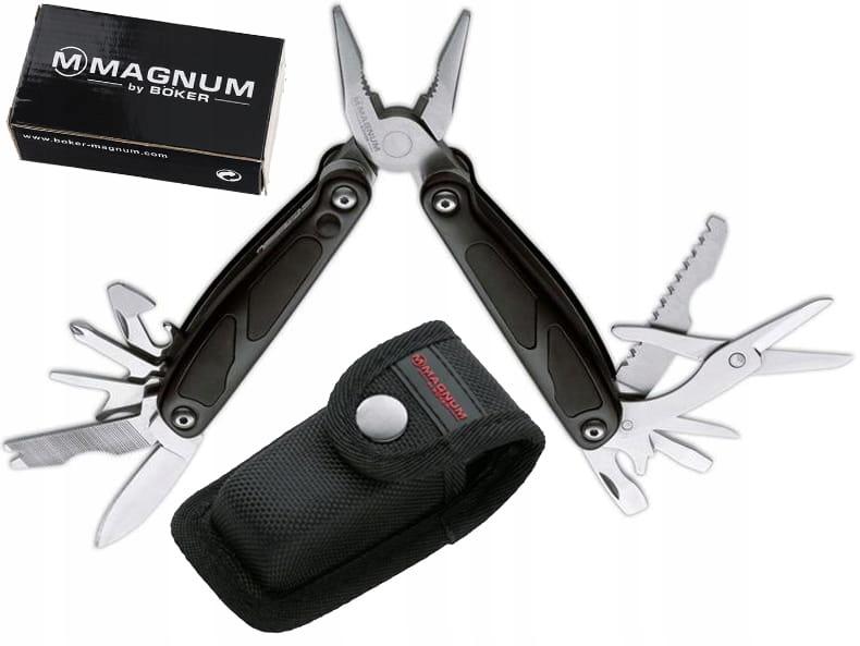 Boker Magnum Maxigrip multitool s baterkou