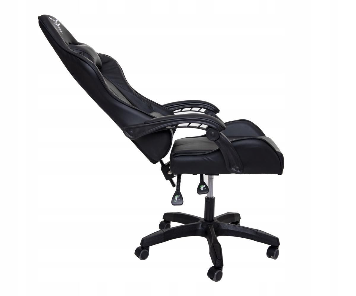 Поворотное игровое офисное кресло-ковшик Высота мебели 133 см.