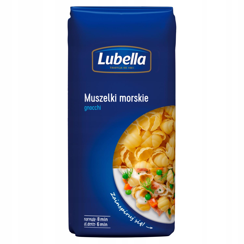 Makaron Muszelki morskie Lubella Gnocchi 400 g