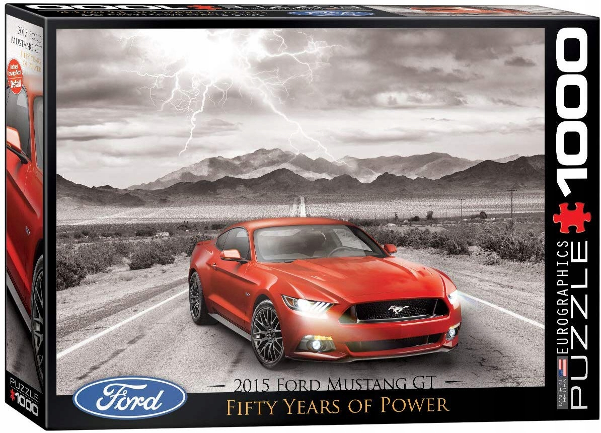Eurographics puzzle 1000 PC Ford Mustang 2015
