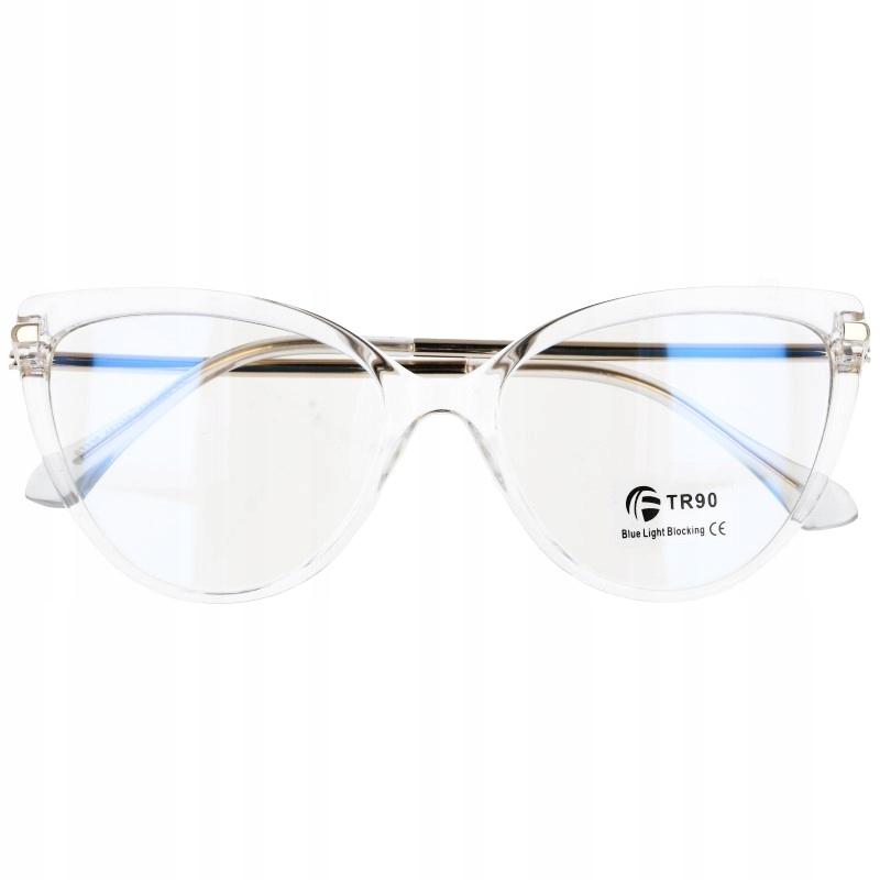 Okulary Damskie oprawki okularowe korekcyjne kocie
