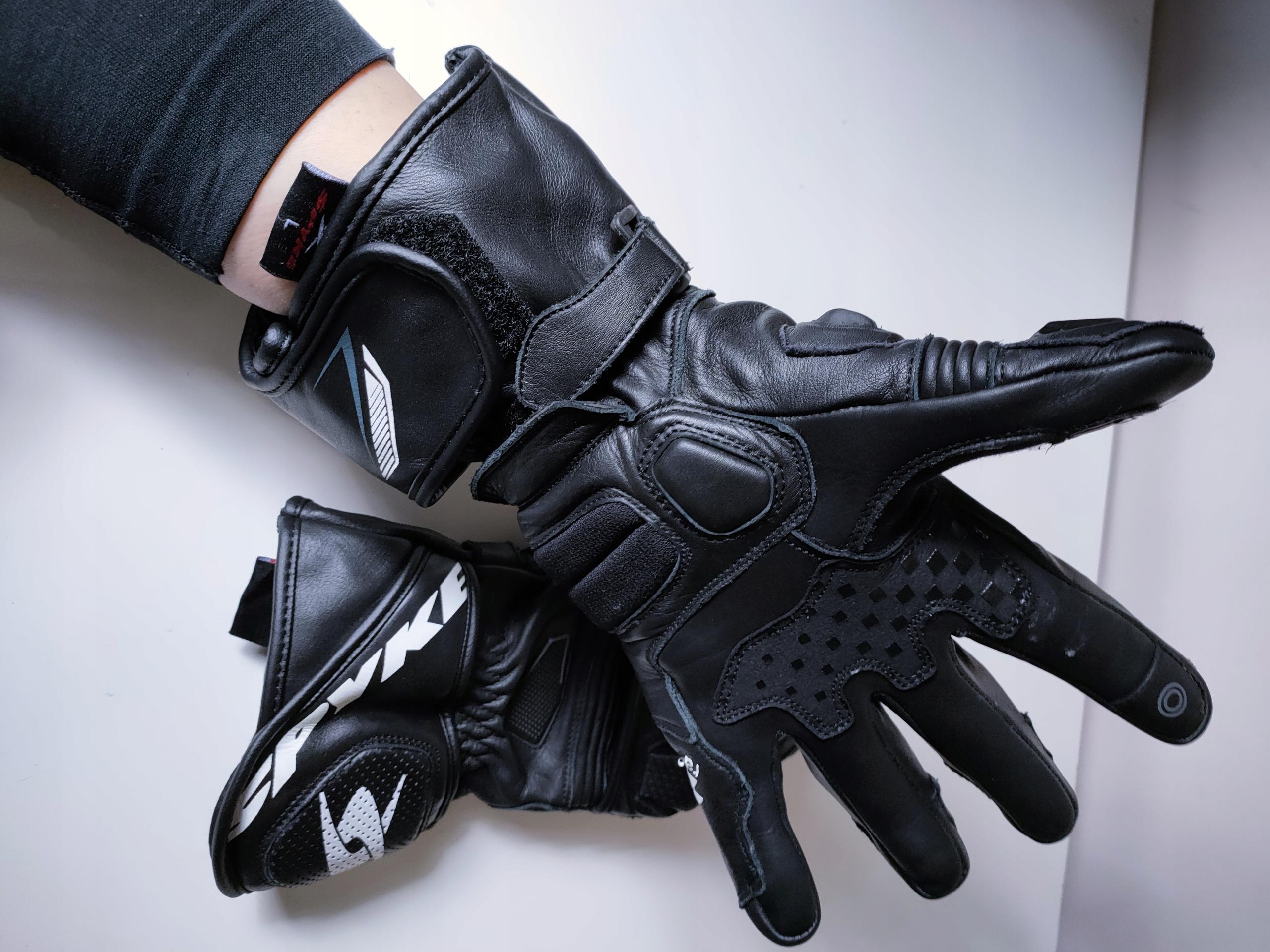 Перчатки мотоцикл spyke tech race - отправка gratis, фото 8