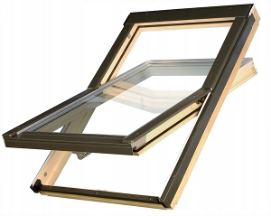 Мансардное окно Optilight 3-GLASS DPRO U4 66x118 + фланец