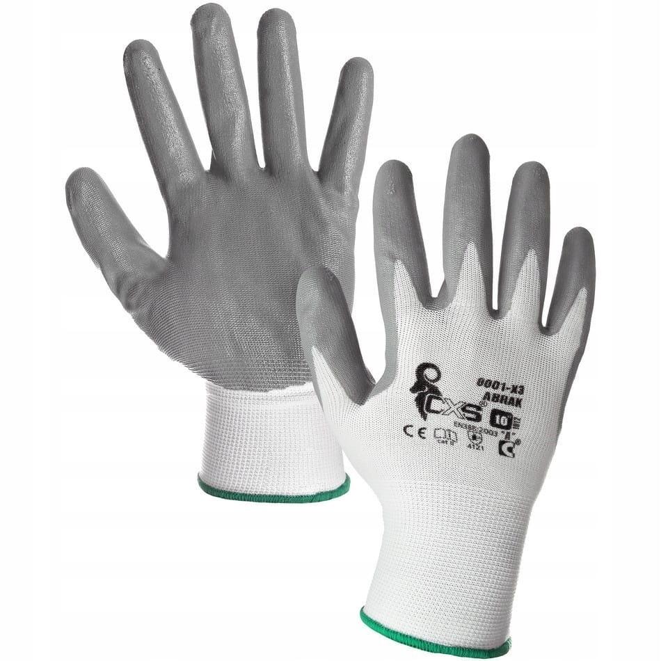 Защитные рабочие перчатки с покрытием CXS ABRAK 9-L