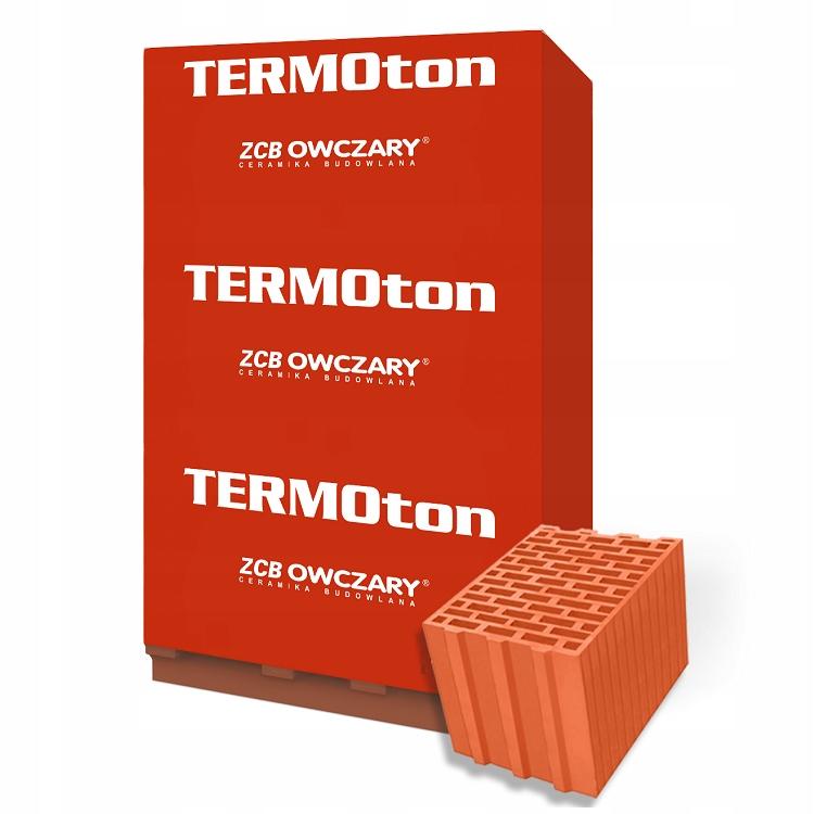 Керамический блок TERMOton 25 P + W OWCZARY