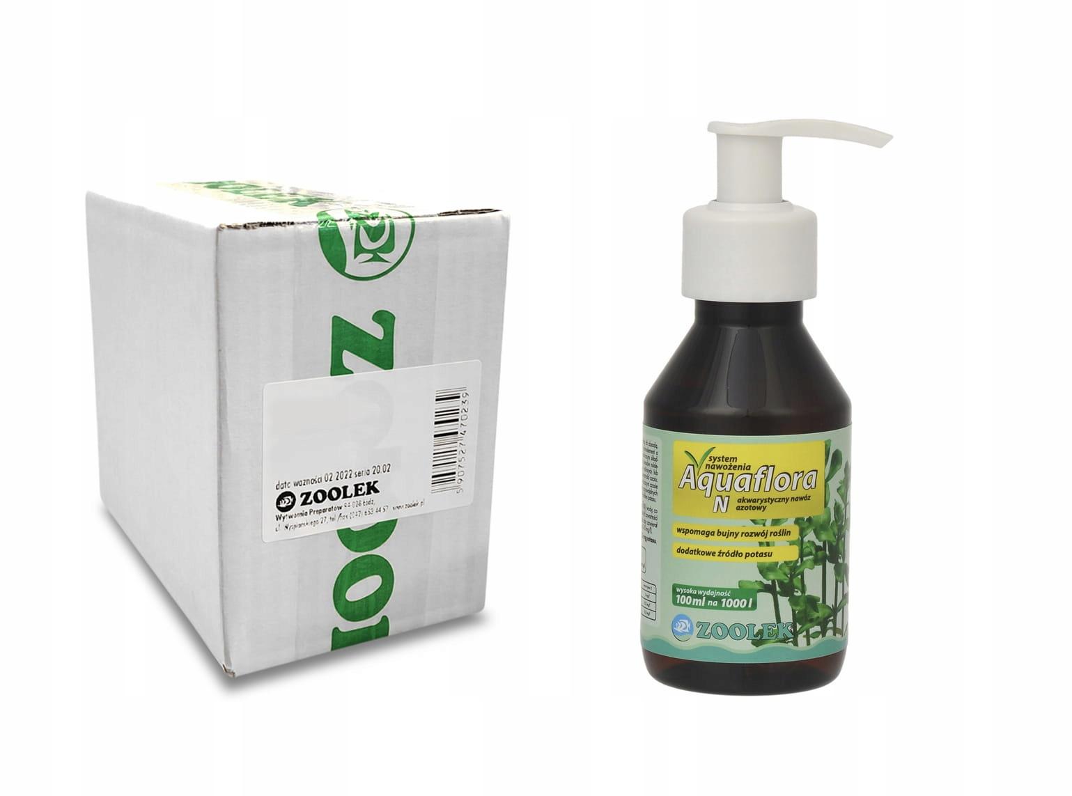 ZOOLEK Aquaflora N 100 ml PK mačka. zb.6 Ks.