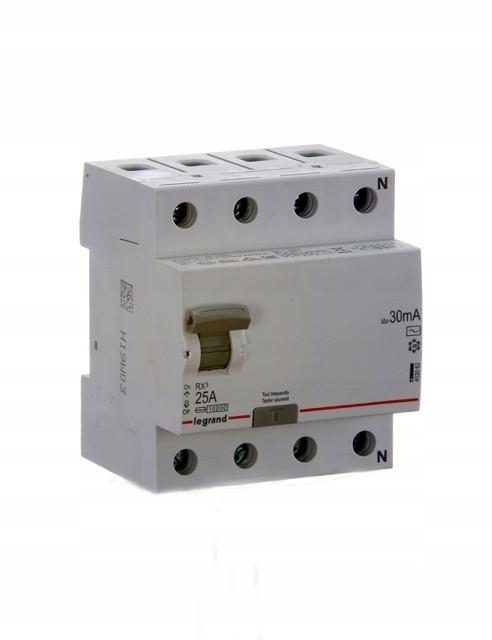 LEGRAND RX3 wyłącznik różnicowo-prądowy 25A 402062