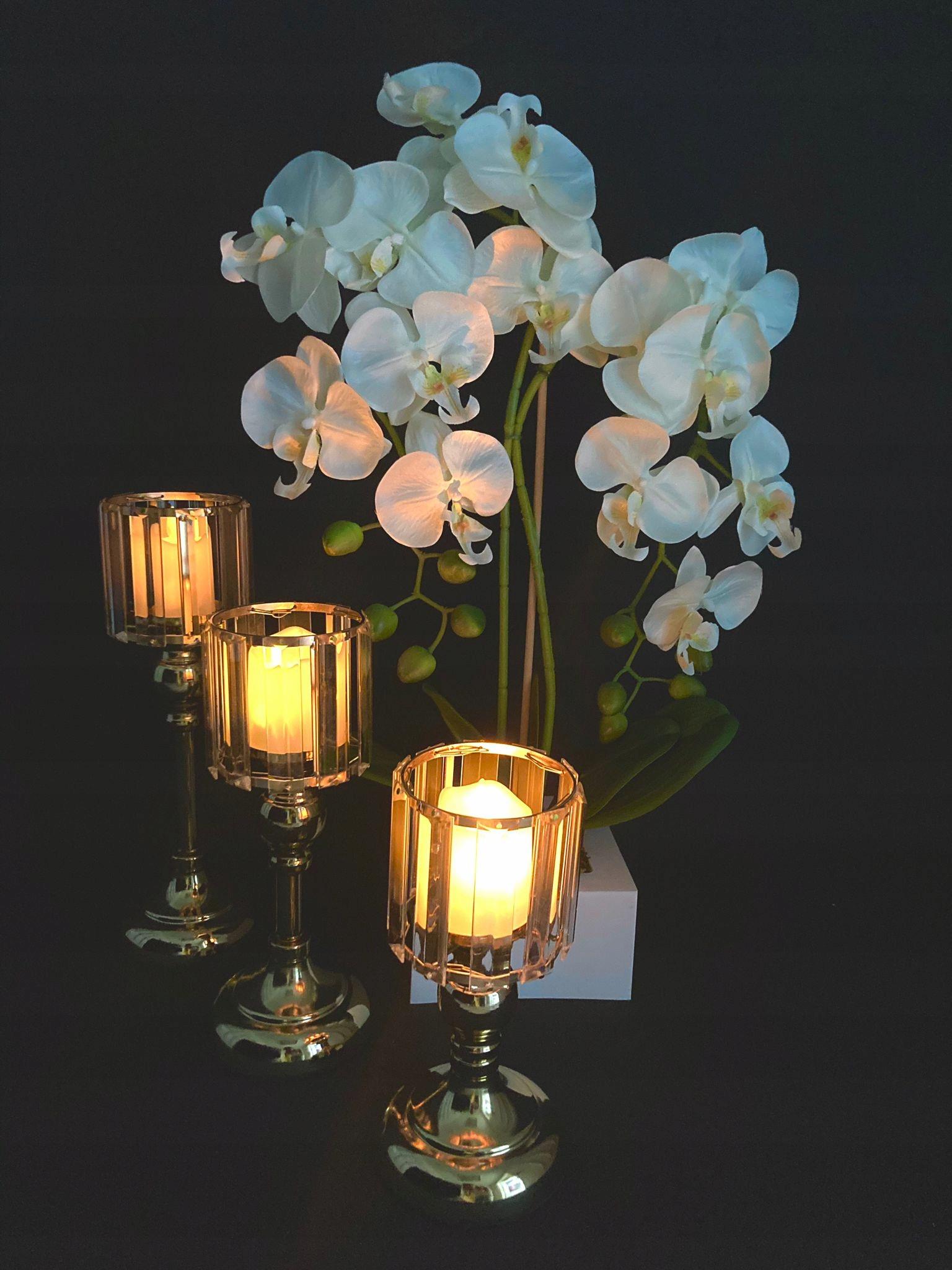 Металлические подсвечники LAMPIONS ELEGANT SET