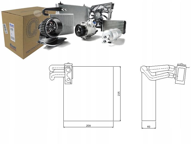 испаритель кондиционирования воздуха dacia duster 16 16v