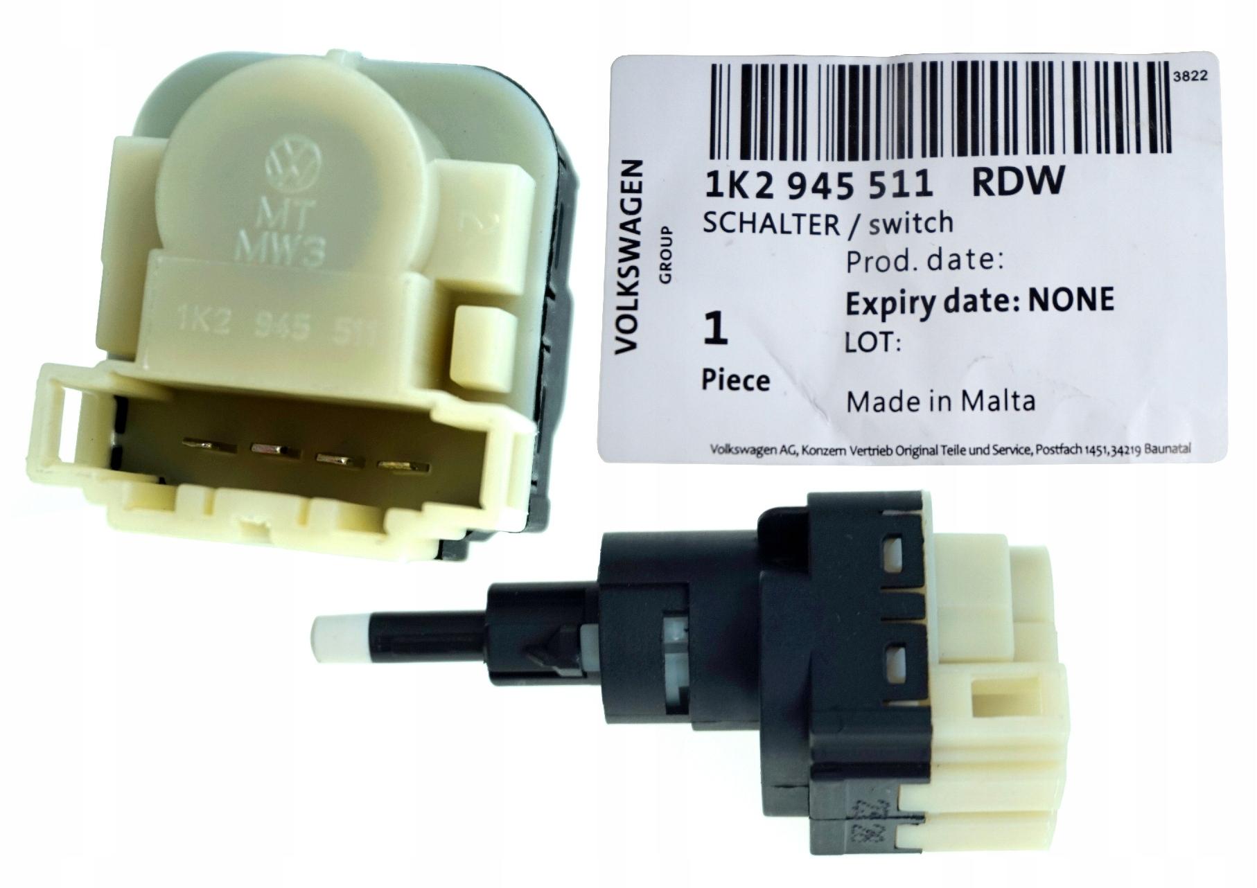 выключатель датчик стоп тормоза audi a4 b7 оригинал