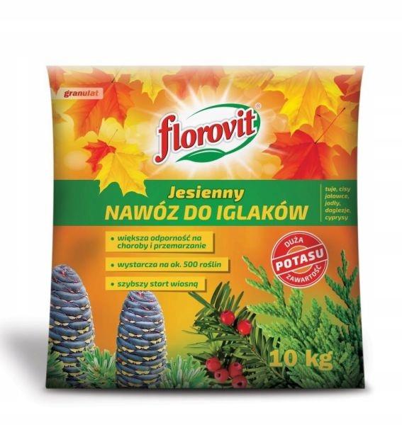 Nawóz do iglaków jesienny Florovit 10 kg granulat