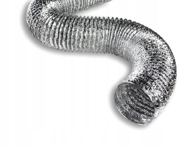 Алюминиевая вентиляционная труба ALUDEC spiro 125 10м
