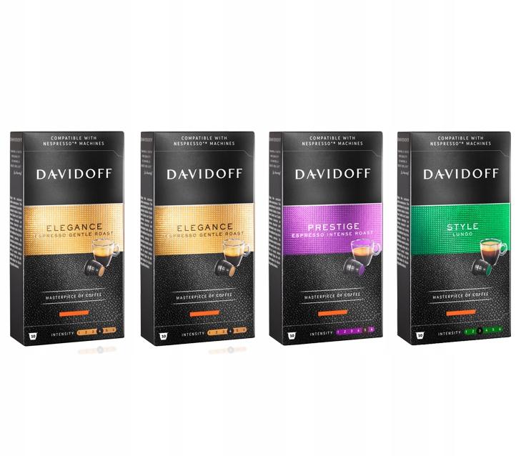 Zestaw kapsułek Davidoff do Nespresso 4x10szt.