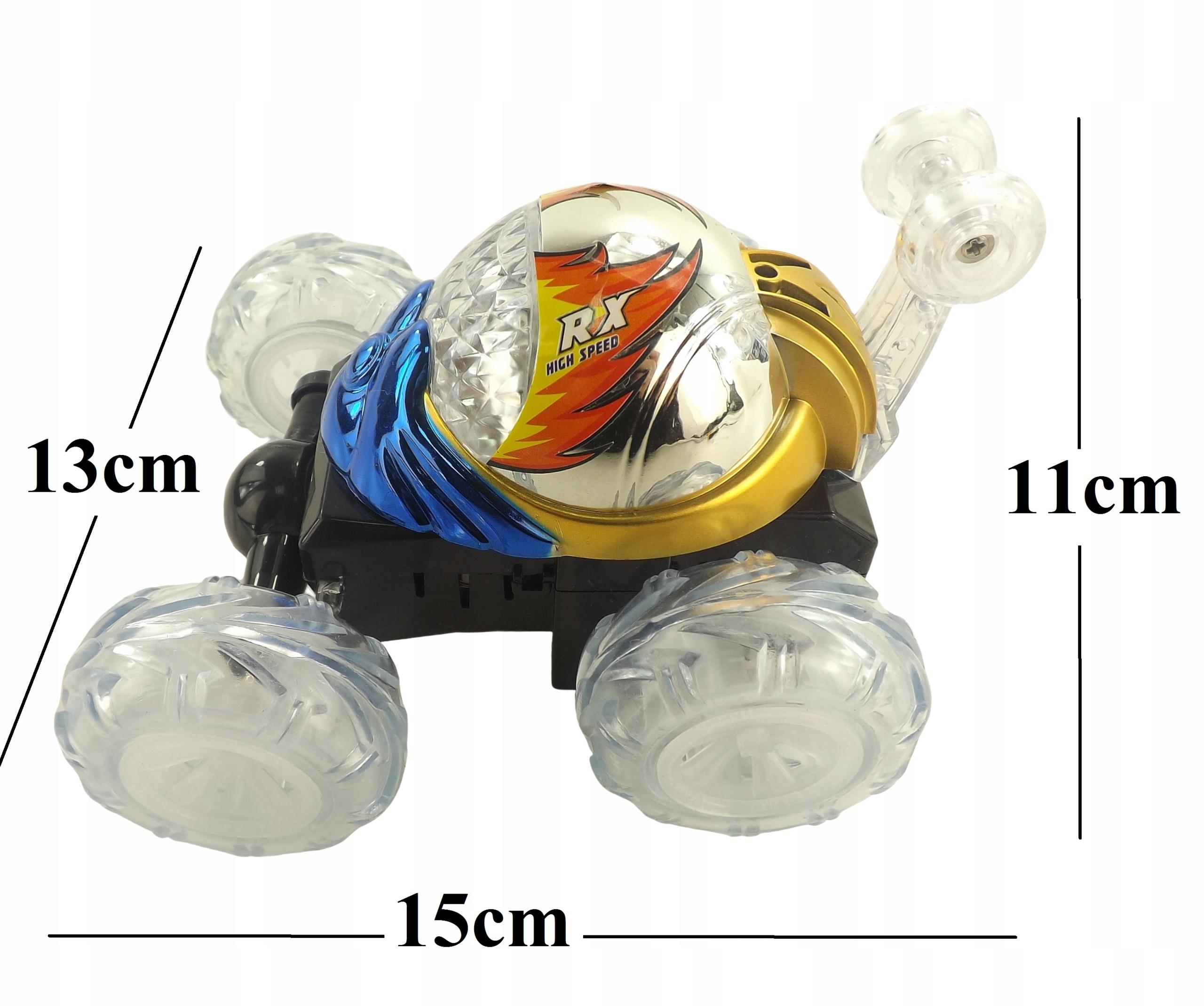 TWISTER - tańczący samochód dźwięki ,światła 99918 Waga (z opakowaniem) 0.44 kg