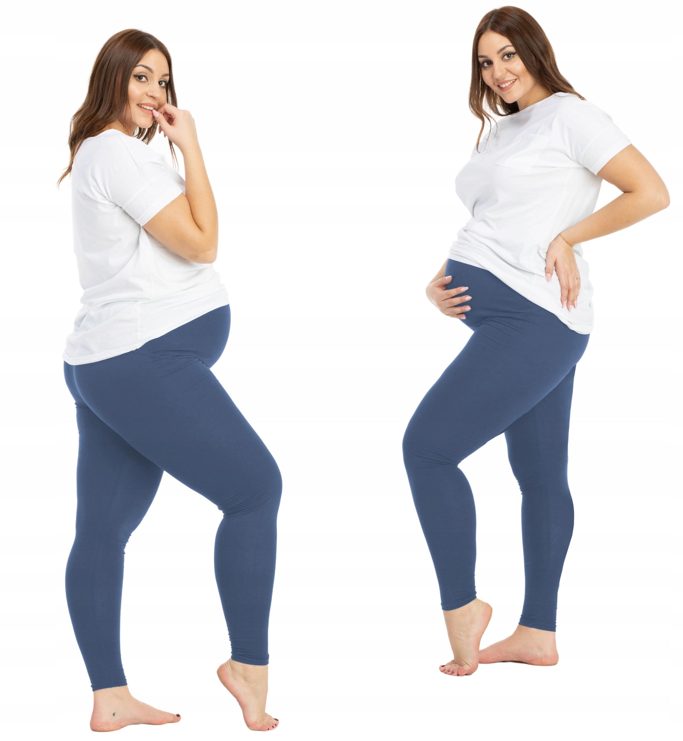 Купить Классические леггинсы для беременных - индиго BENSINI на Otpravka - цены и фото - доставка из Польши и стран Европы в Украину.