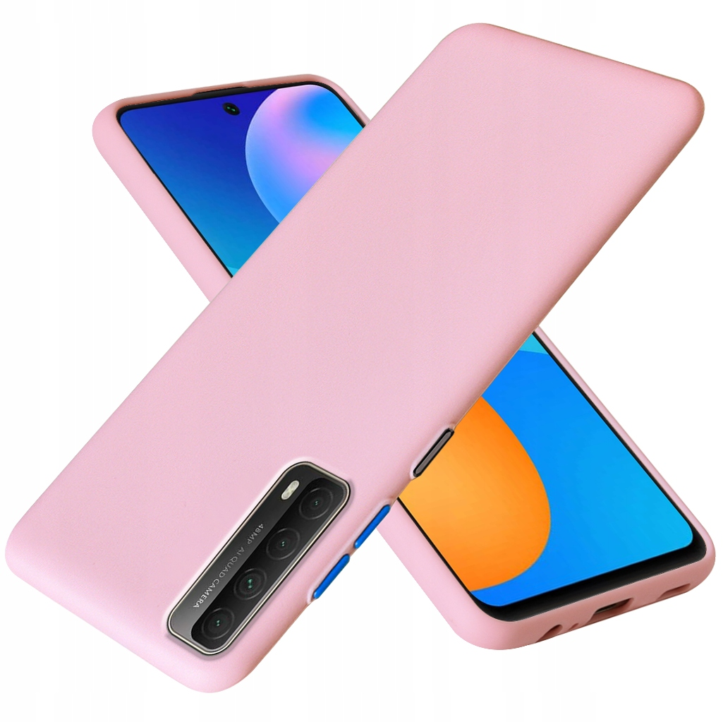 Etui do Huawei P Smart 2021 Case Silikon + Szkło