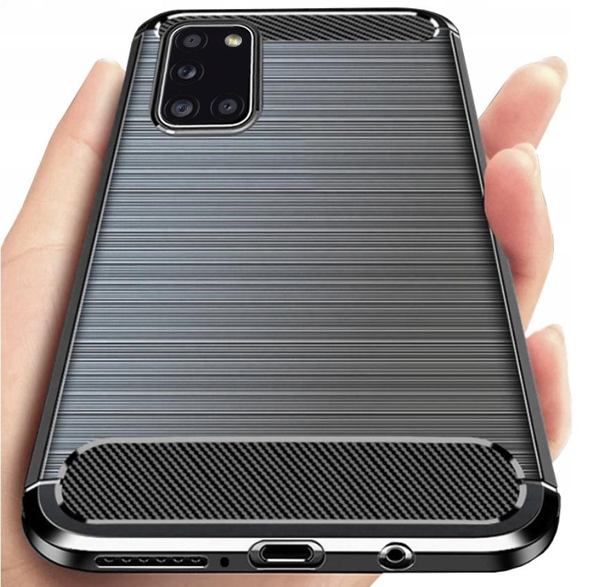 Etui Pancerne Case + Szkło do Samsung Galaxy A31