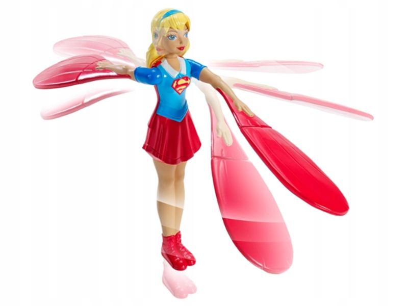 MATTEL SUPER HERO GIRL LATAJĄCA LALKA SUPERBOHATER