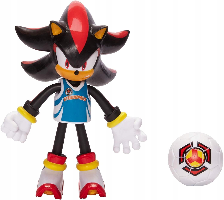 Futbalová akčná figúrka Sonic The Hedgehog Shadow + lopta