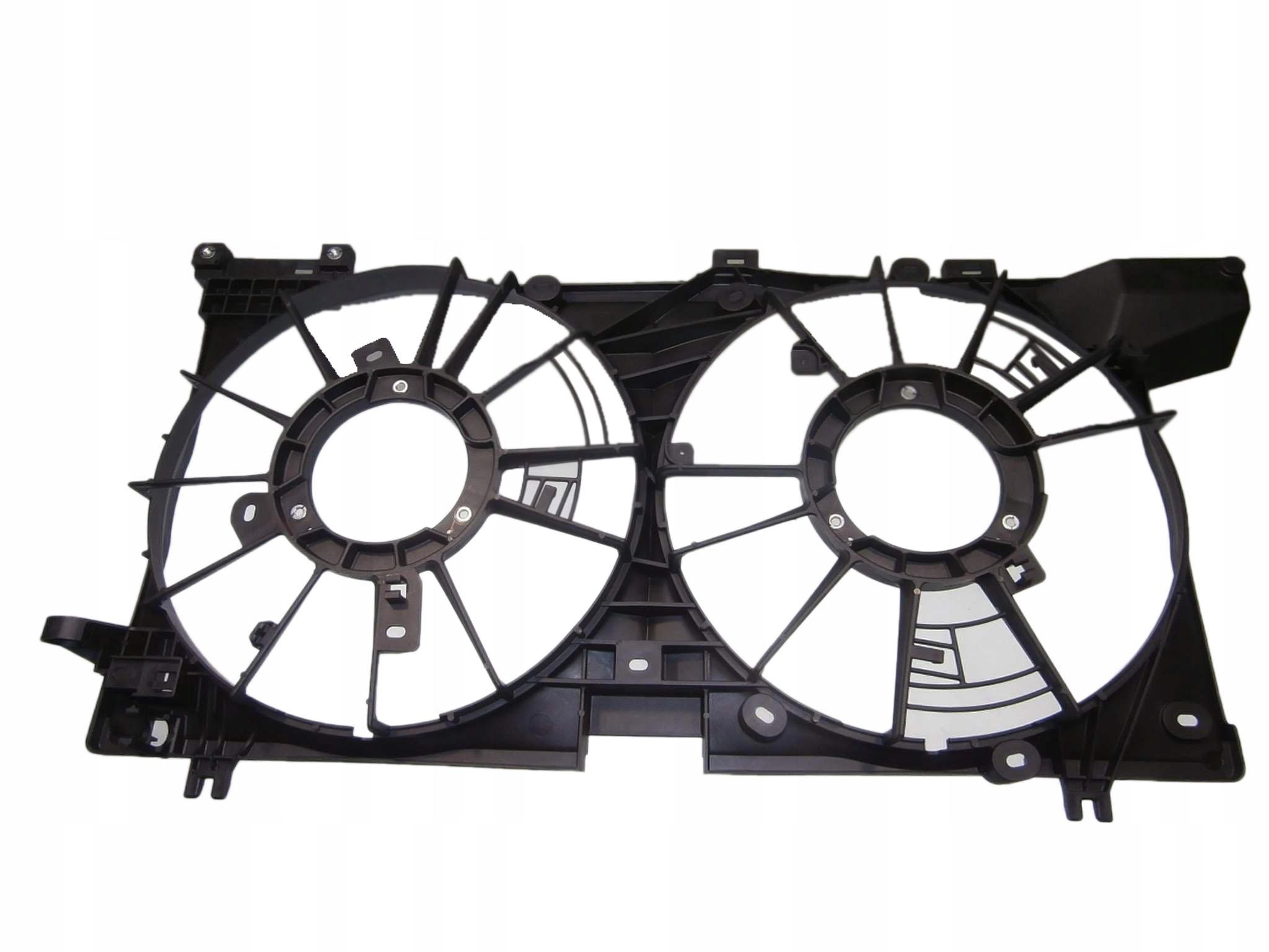 subaru legacy 15- корпус крышка вентилятора 25