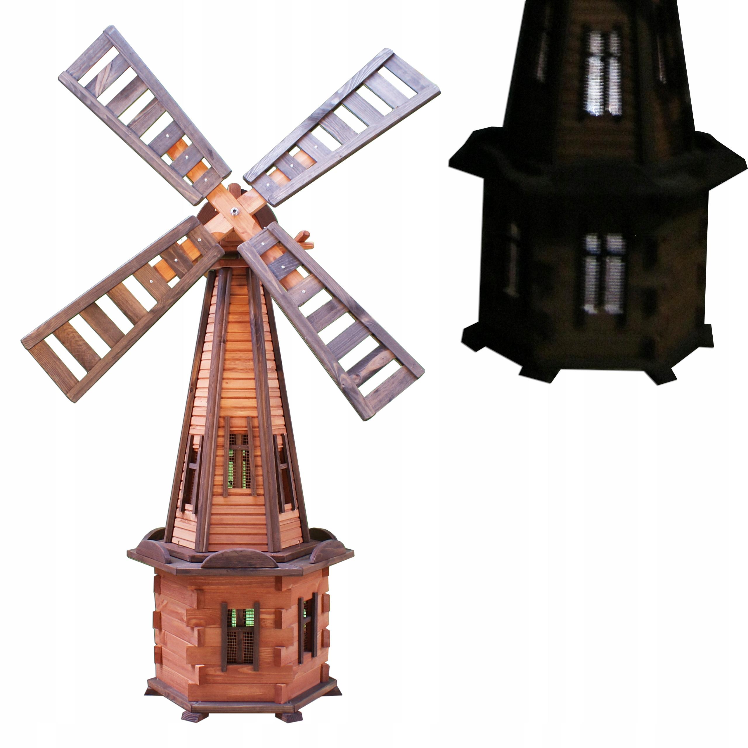 Садовый вентилятор со светодиодной солнечной подсветкой 170см