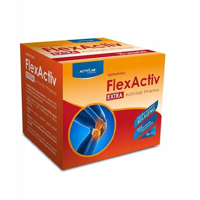 FLEXACTIV EXTRA x 30 sasz. STAWY KOLAGEN ACTIVLAB