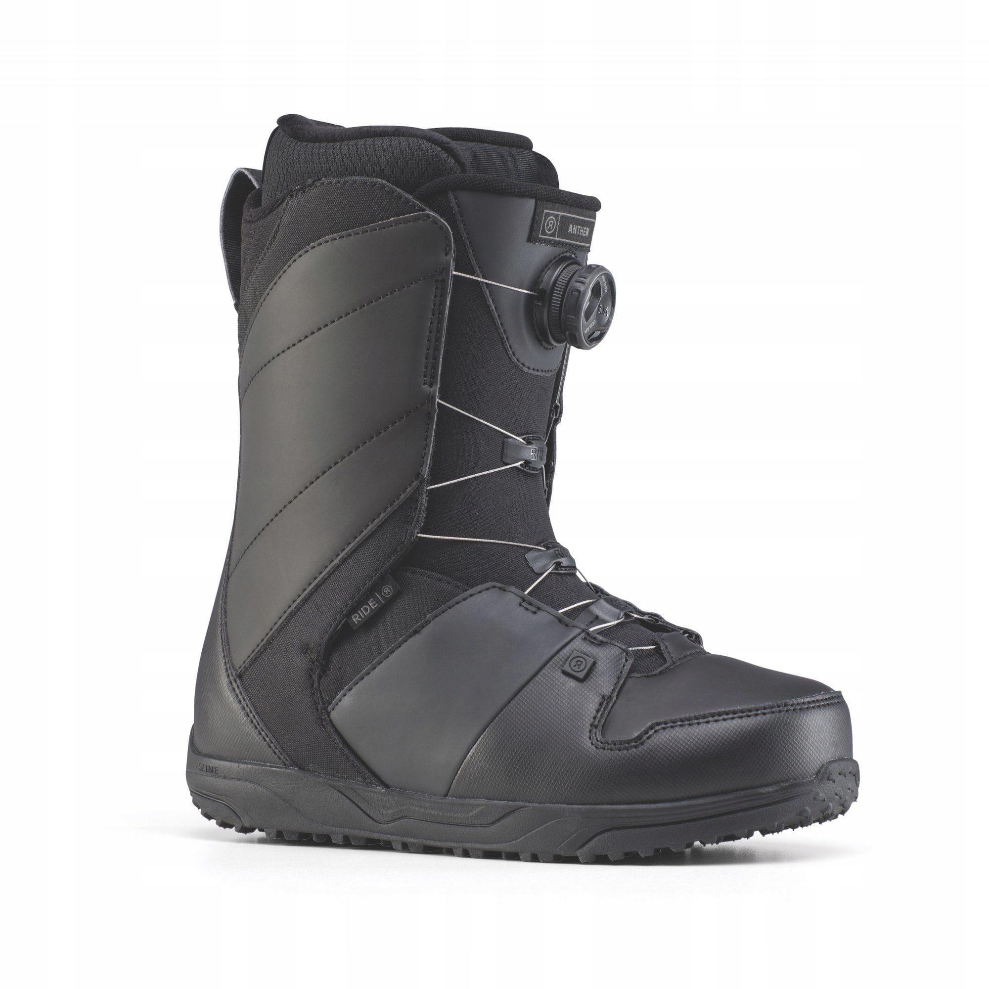 Snowboardové topánky Ride Anthem čierna Veľkosť 41,5