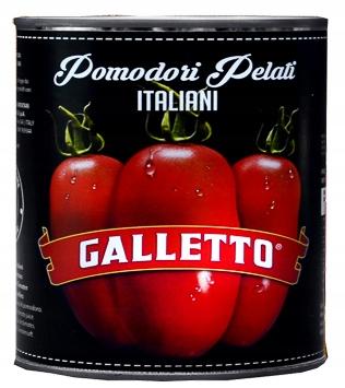 [SF] Galletto Pomidory Pelati 400g Włoskie