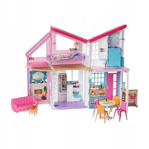 Barbie barbie fxg57malibu domček 6 izieb + doplnky