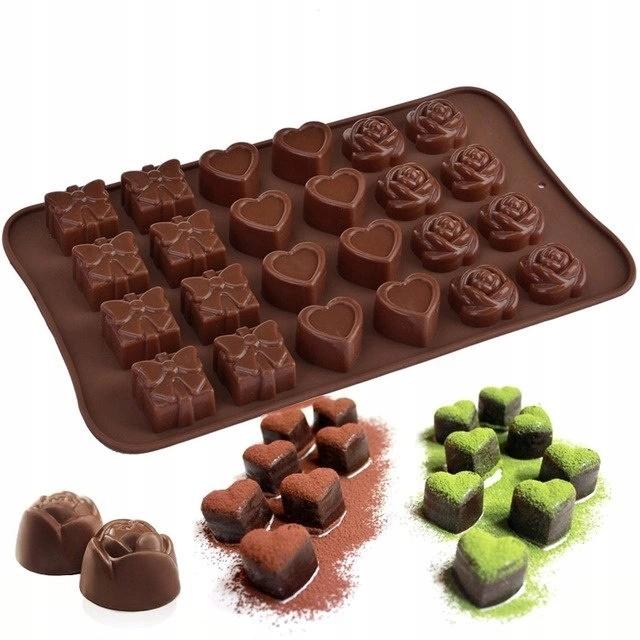 Силиконовая форма для шоколадного ледяного пралине