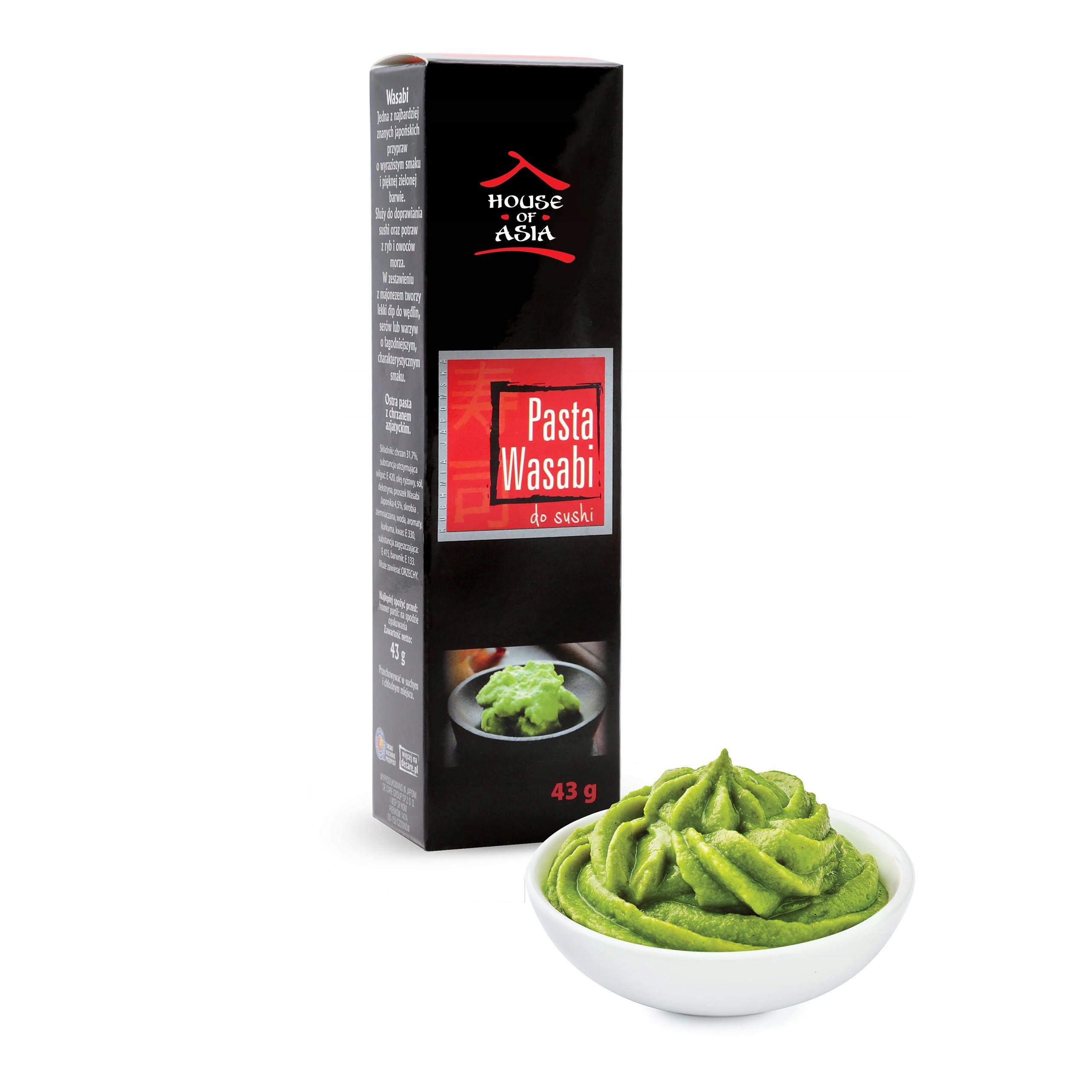 Pasta wasabi do sushi 43 g