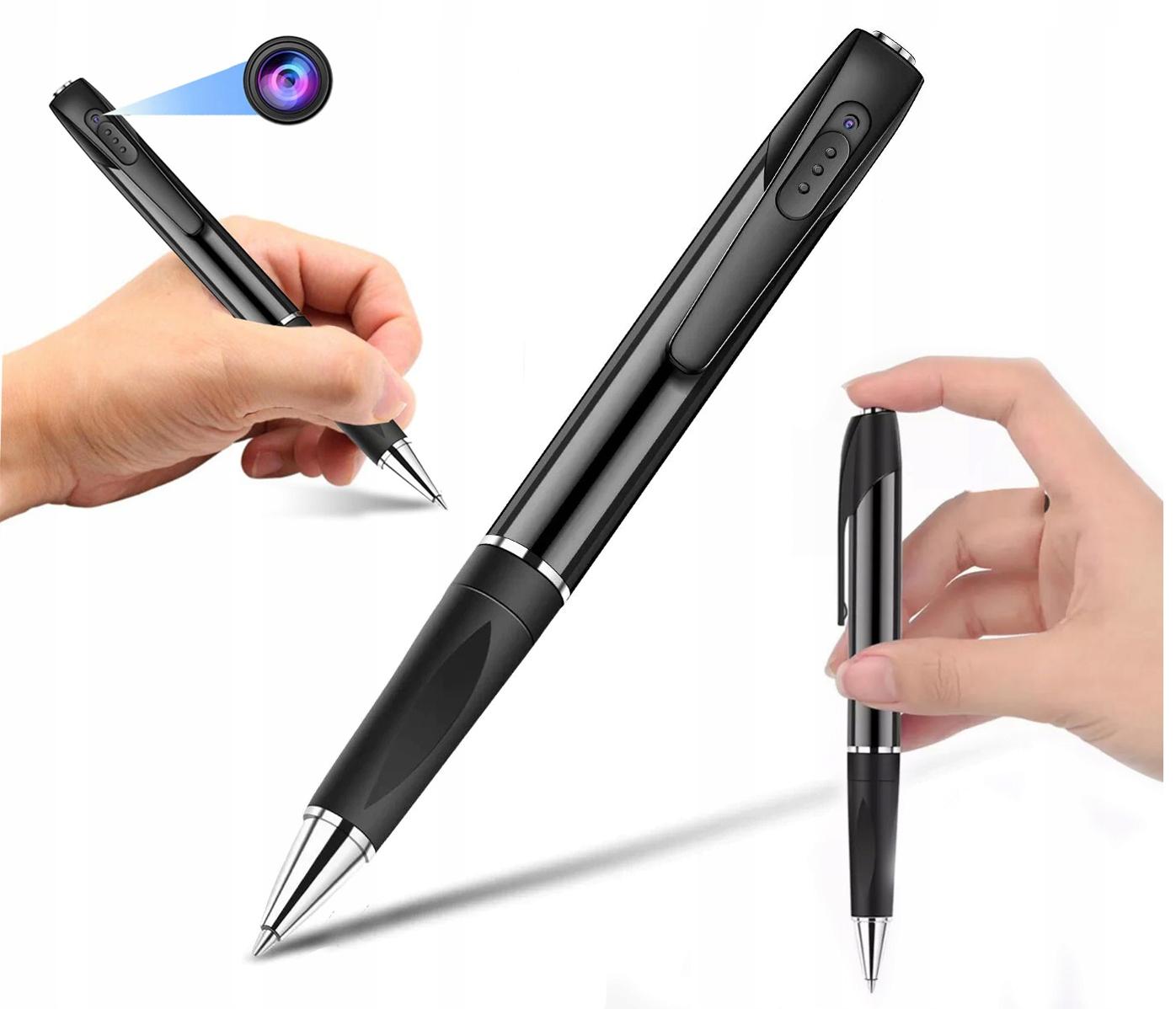 Długopis ukryta MINI KAMERA Full HD dyktafon FHD