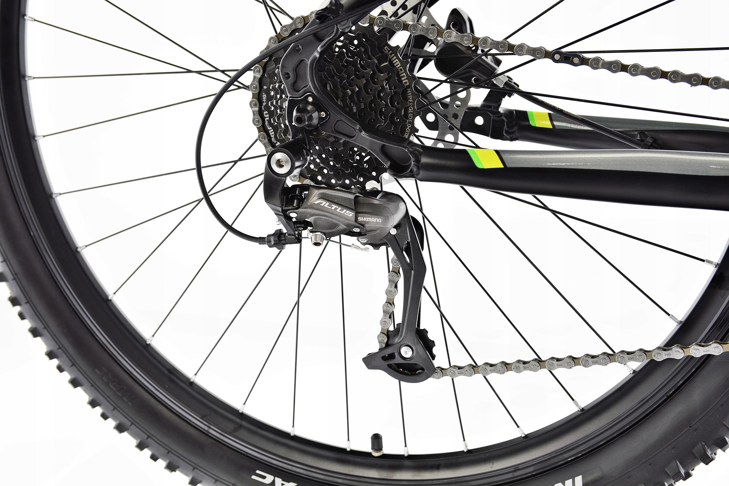 Rower MTB Kands 29 COMPER 21 czarno-seled 2021 Rodzaj przerzutki zewnętrzna