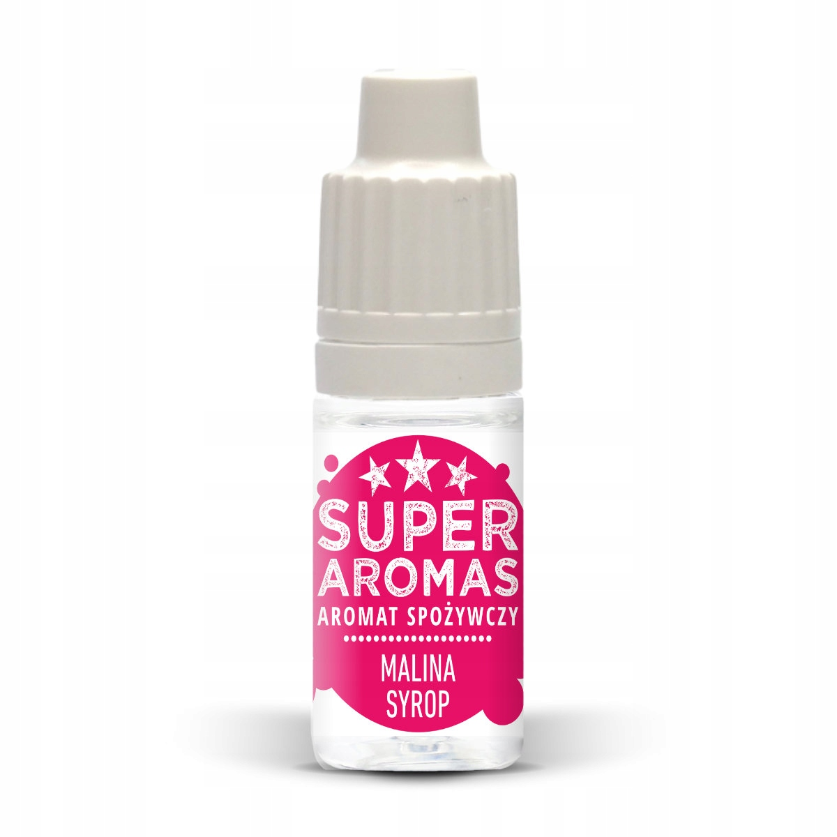 Малиновый сироп пищевой ароматизатор 10 мл
