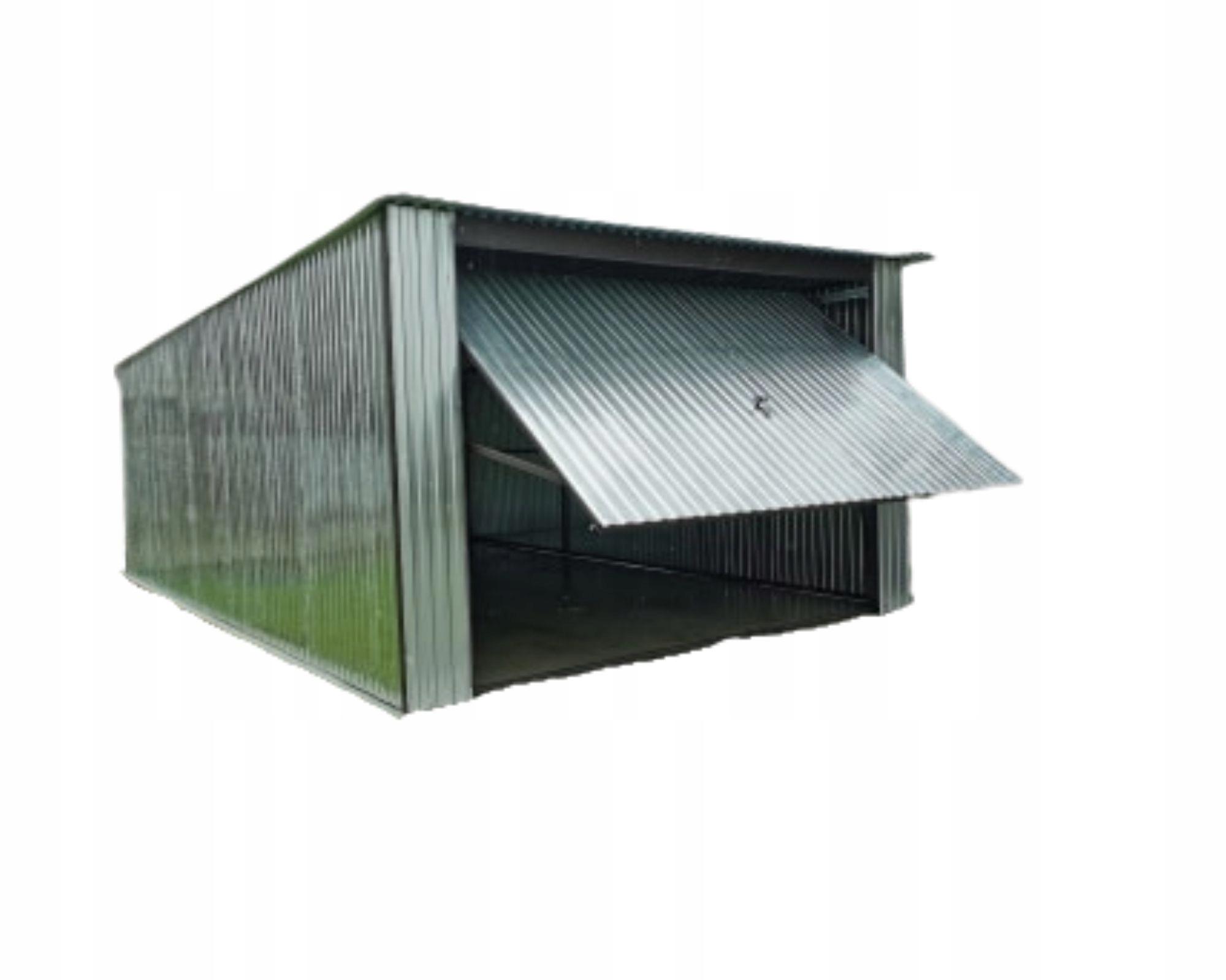 Tin Garage Blaszak Жестяные гаражи 4х6 ворот
