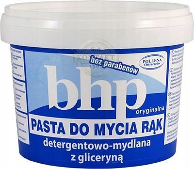 Паста BHP для мытья рук, 500 г Pollena с глицерином