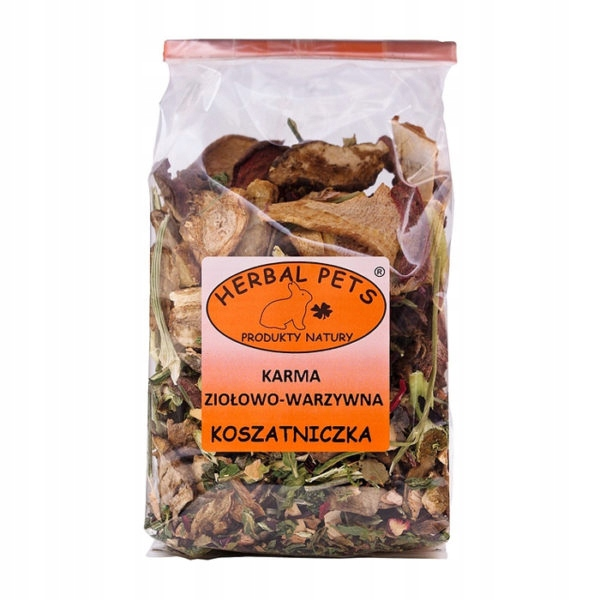 Травяной корм для домашних животных Травы и овощи Koszatniczka