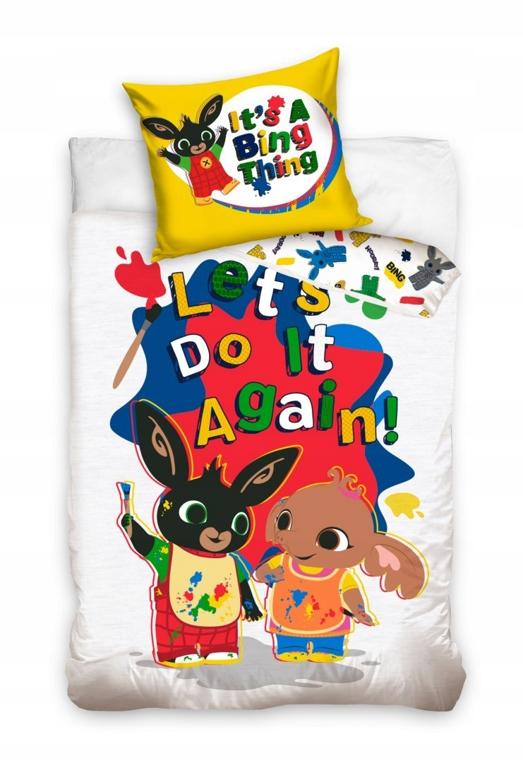 Detské obliečky Bing králik Flop 160x200