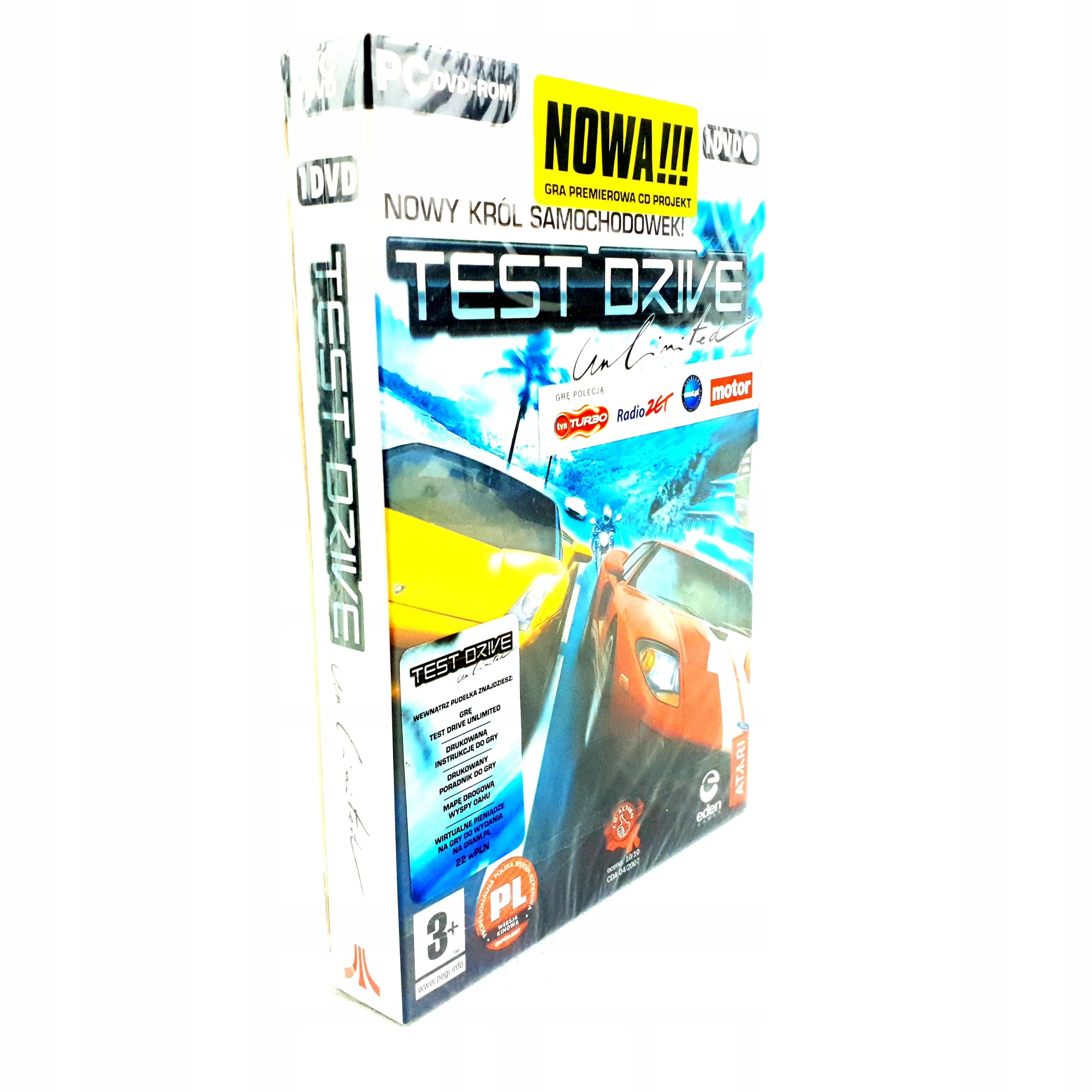 Nowa Test Drive Unlimited 1 I Premierowe Tdu Pl Stan Nowy 9827939547 Allegro Pl