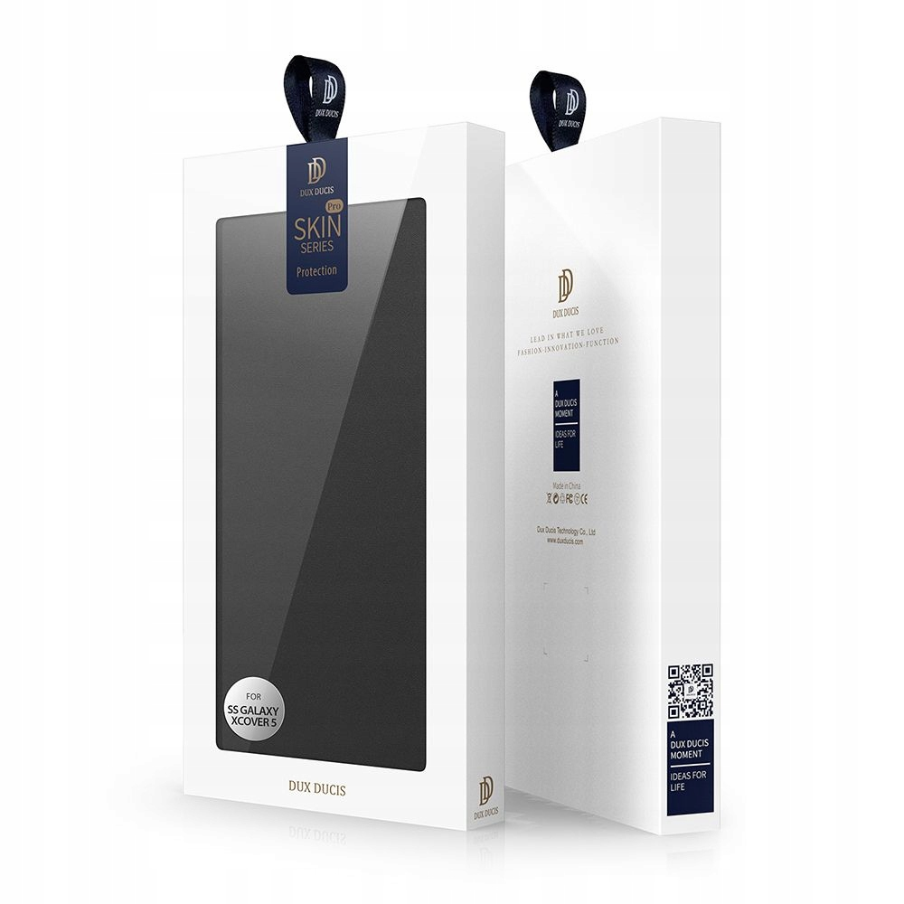 Etui DuxDucis Skinpro do Samsung Galaxy XCover 5 Kolor czarny