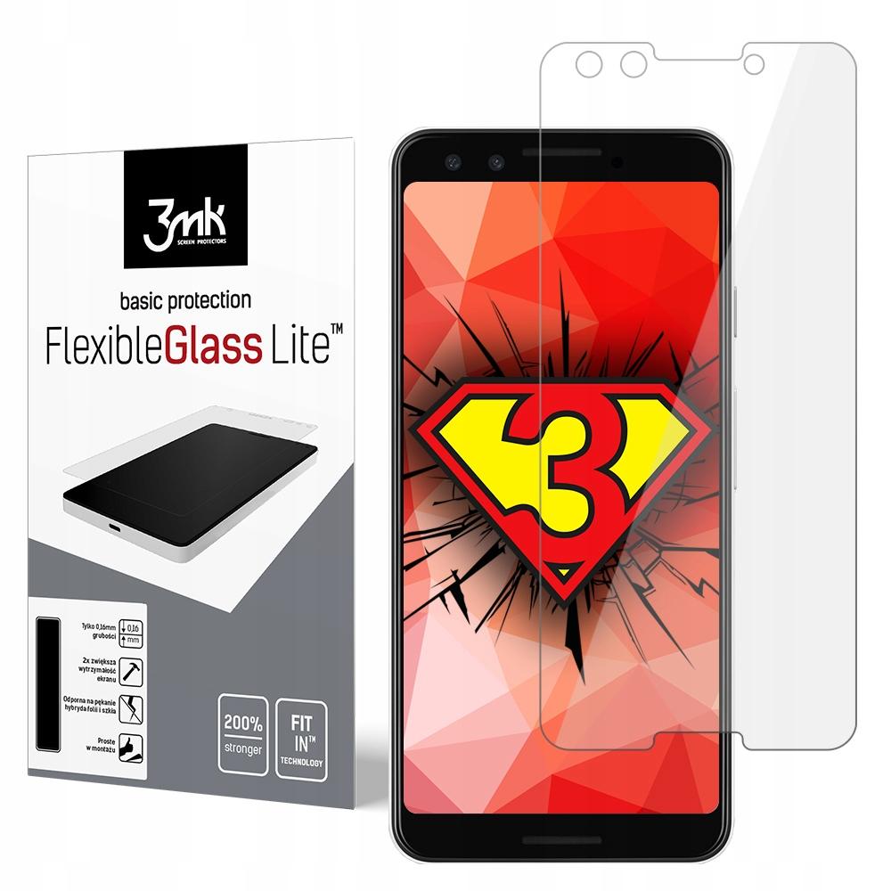 Google Pixel 3 --- szkło -- 3mk FlexibleGlass Lite