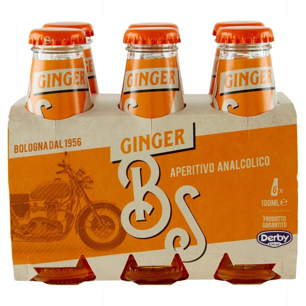 Derby Ginger Aperitivo aperitiv bezalkoholowy 6szt