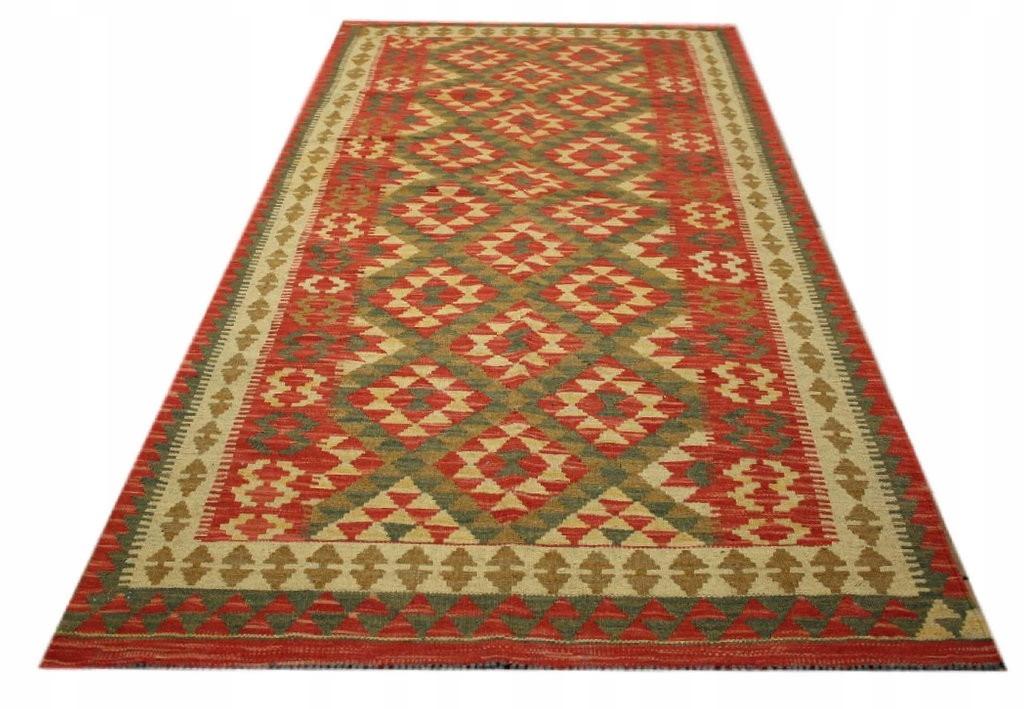 Koberec Kilim Pakistan Old Style Retro vlna 103x213