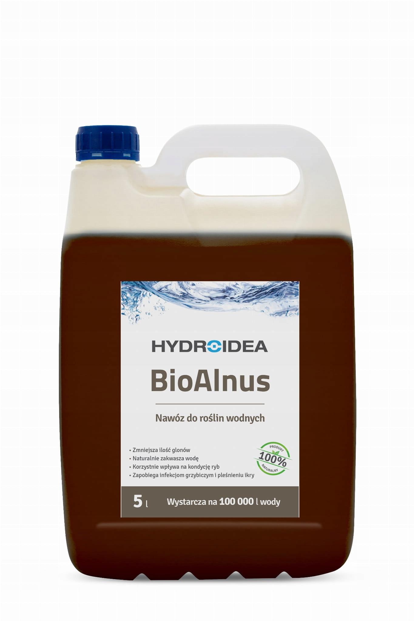 Hydroida BioAlnus 5l ШЕИ ЭКСТРАКТ ВОДОРОСЛЕЙ ВОДОРОСЛЕЙ
