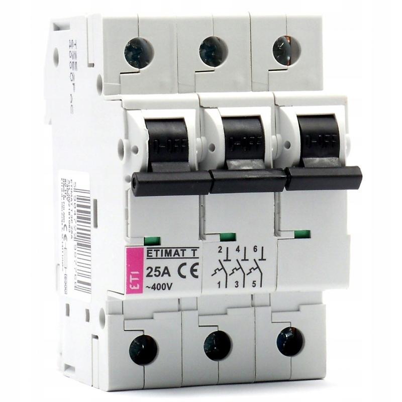 Ограничитель мощности ETIMAT T ETI 3P 25A 002181063