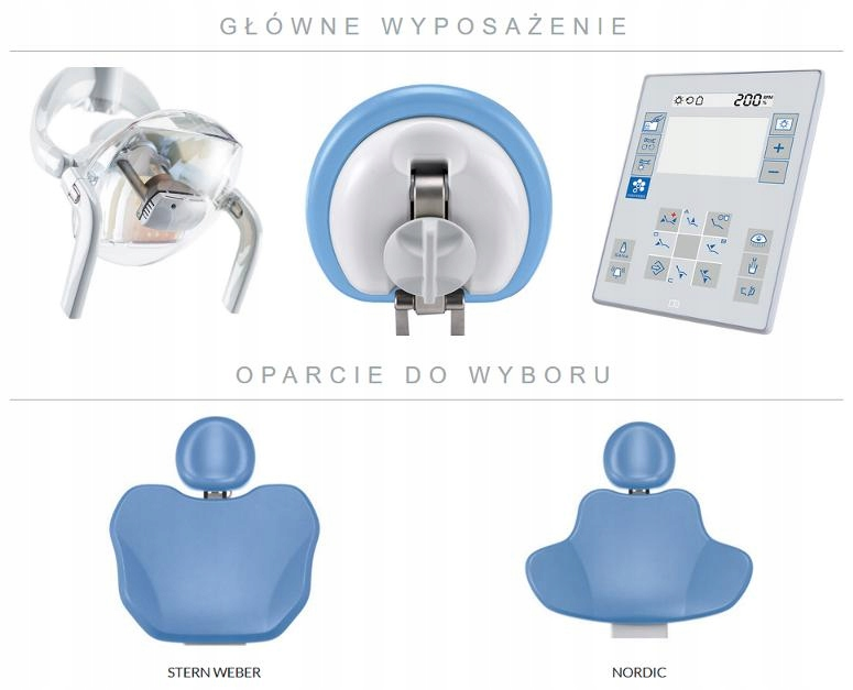 Unit stomatologiczny Stern Weber S200 Producent Stern Weber