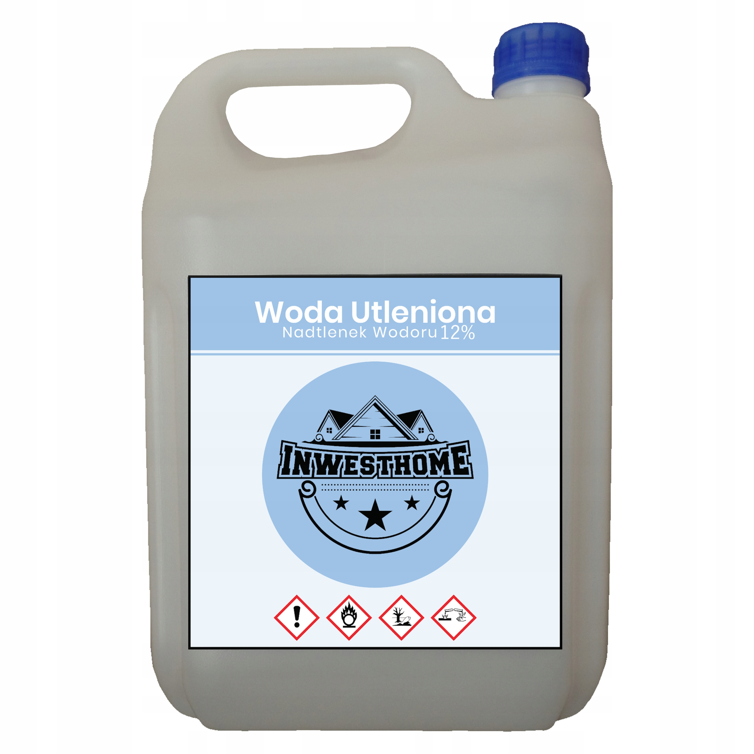 WODA UTLENIONA 12% NADTLENEK WODORU 5L
