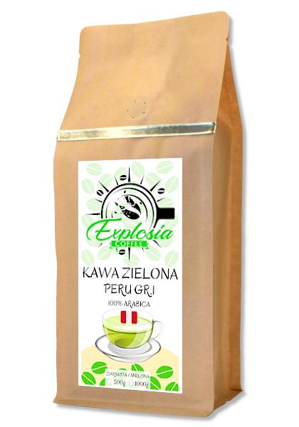 ЗЕЛЕНЫЙ кофе в зернах PERU GR.1 1кг