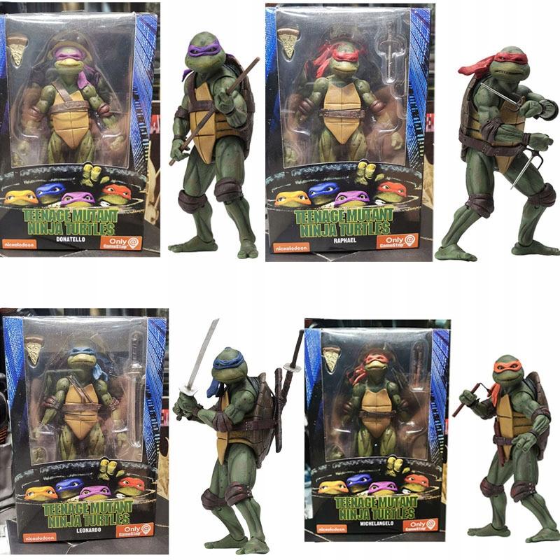 Akčný obrázok pre dospievajúce mutantné korytnačky Ninja