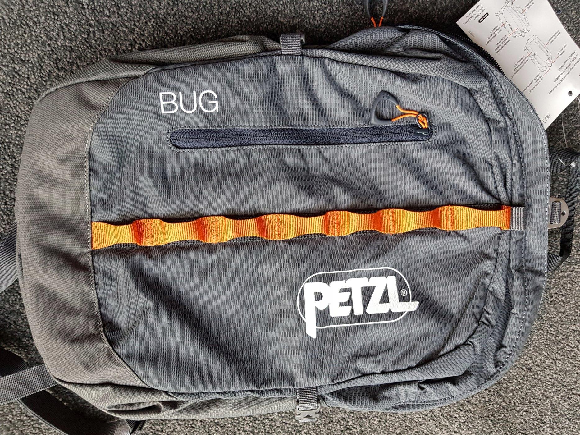 Купить Серый рюкзак Petzl Bug S073AA00 на Otpravka - цены и фото - доставка из Польши и стран Европы в Украину.
